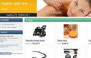 E-shop Masážny salón SHA